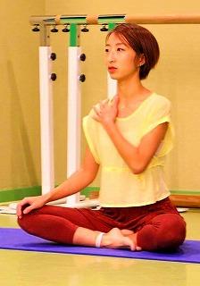 朝活 ヨガ教室Light yoga講師の山田楊子さん