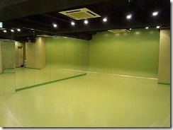 ダンスに使える赤坂レンタルスタジオの様子